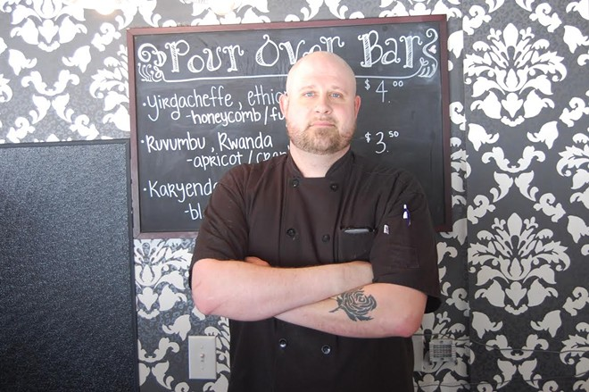 Chef Josh Koester leads the kitchen at Colleen's Cookies' cafe. - HARLAN MCCARTHY
