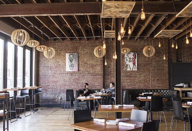 The interior of Copper Pig looks like a classic south-city rehab. - PHOTO BY MABEL SUEN