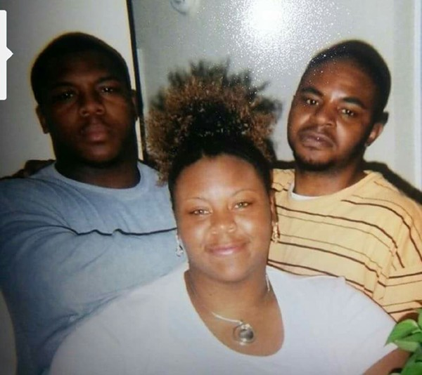 "Robert Franklin (right) with his mother Dina and brother Raymond. The PPDO statute will keep him in prison for another 14 years. ""I know I'm not going home,""  he says. - COURTESY OF DINA FRANKLIN"