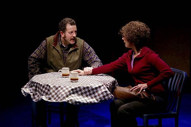 Bill (Joe Osheroff) and Molly (Nancy Bell). - PHOTO BY JERRY NAUNHEIM JR.