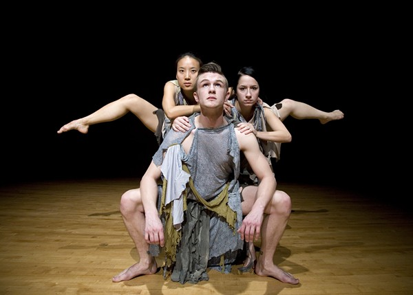 UMSL dance students in a 2009 performance. - PHOTO COURTESY OF UNIVERSITY OF MISSOURI ST. LOUIS.