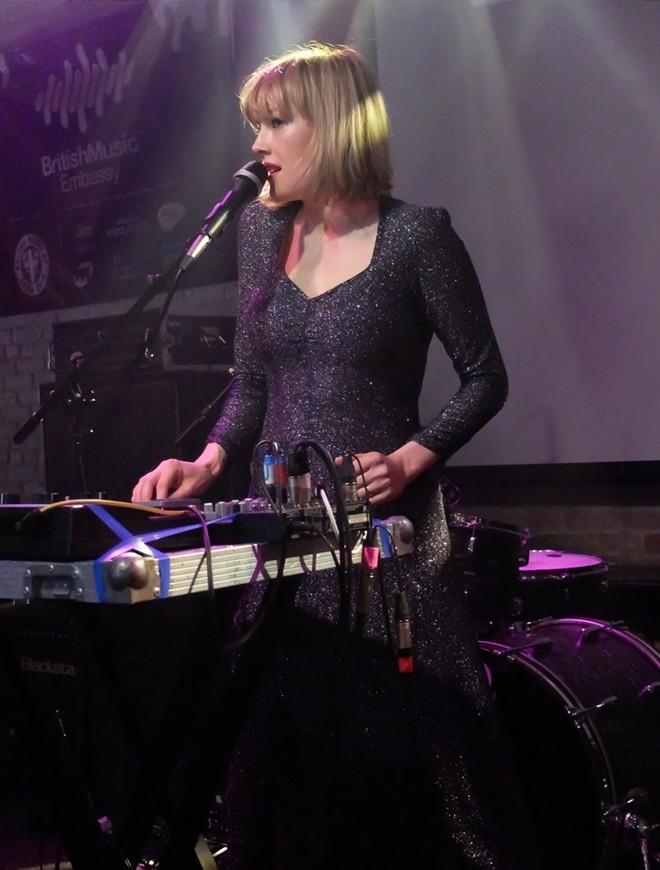 Gwenno at British Music Embassy - DANA PLONKA