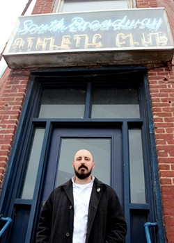 Kevin Wilkins, president of the South Broadway Athletic Club, wants you as a member - PHOTO BY DREW SHEAFOR