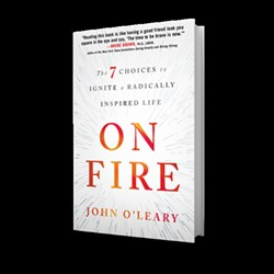 On Fire is a No. 4 new release on Amazon. - PHOTO COURTESY OF THE O'LEARY FAMILY