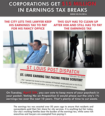 An anti-tax mailer. - COURTESY OF VOTE NO ON THE E-TAX
