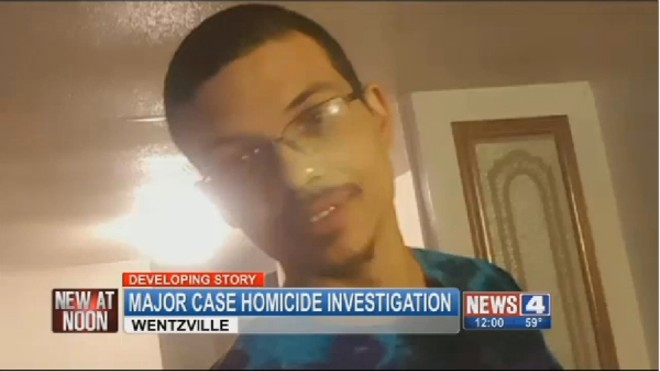 Ruben Martinez's mysterious death in Wentzille could be an elaborate suicide, authorities say. - IMAGE VIA KMOV