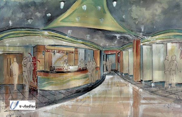 A rendering of the future lobby. - COURTESY OF THE KRANZBERG ARTS FOUNDATION