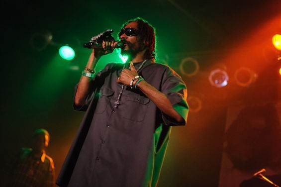 Snoop Dogg will perform with Wiz Khalifa at Hollywood Casino Amphitheatre on Wednesday, August 17. - PHOTO BY JASON STOFF