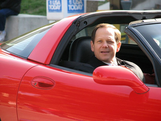 St. Louis Mayor Francis Slay is riding off into the sunset. - MELISSA VIA FLICKR