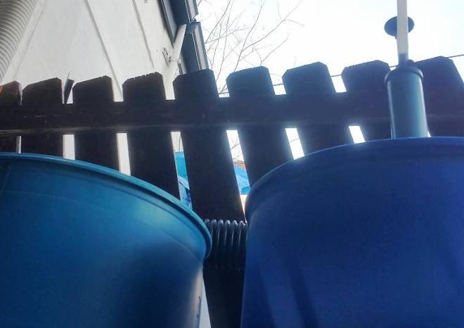 RAIN BARRELS AT MILQUE TOAST BAR | PHOTO COURTESY OF MILQUE TOAST BAR