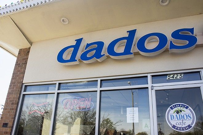 Dados is located in St. Louis' Southampton neighborhood. - PHOTO BY MABEL SUEN