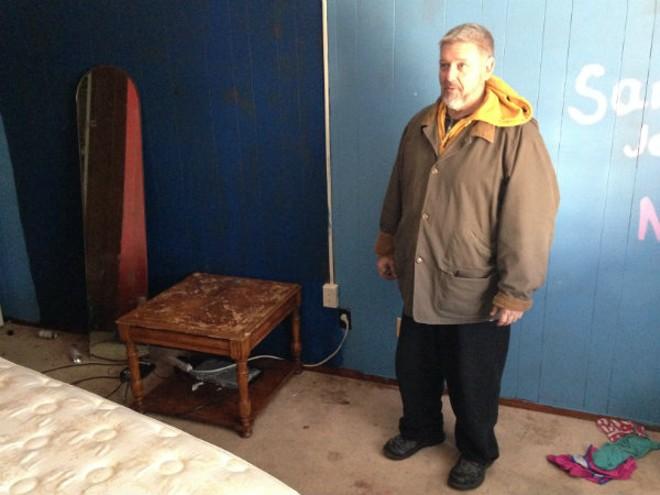 Dojo Pizza owner Loren Copp, shown here at his dojo/pizzeria/residence in Bevo Mill, took pornographic photos of underage girls, prosecutors say. - DOYLE MURPHY