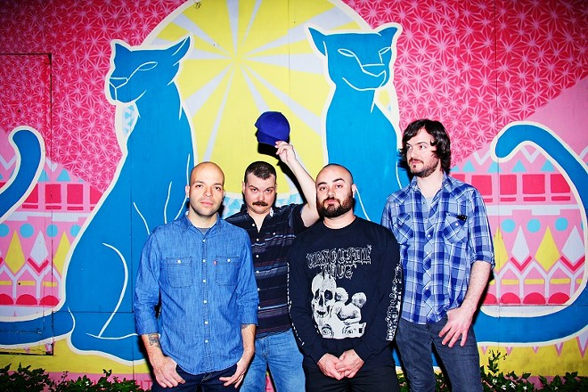 Torche will perform at the Ready Room on Monday, April 25. - PHOTO BY JANETTE VALENTINE