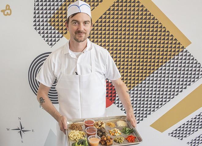 Chef Michael Petres - PHOTO BY MABEL SUEN