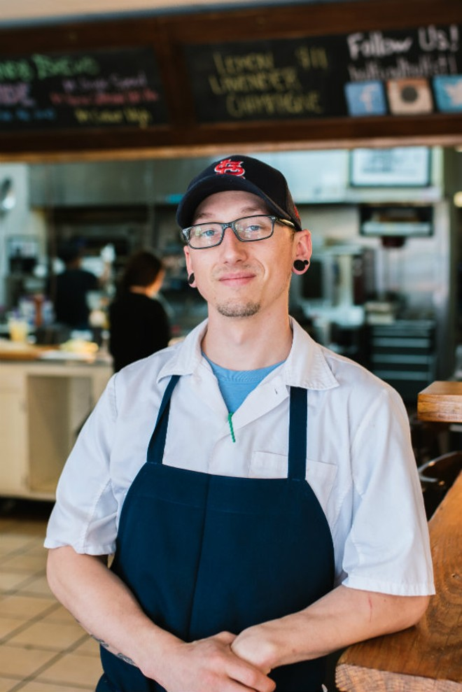 Dale beauchamp of half half enjoys the freedom to go - Chef de cuisine st louis ...