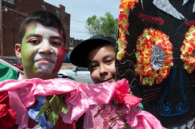 Celebrate Cinco de Mayo on Cherokee Street this Saturday — for free. - PHOTO BY MICAH USHER