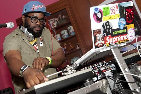 DJ Needles in 2012. - PHOTO BY JON GITCHOFF