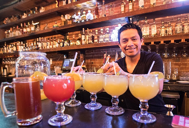 Mas Tequila Cantina's owners hope to fuel a new scene with a host of margaritas and unique tequilas. - MABEL SUEN