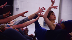 Big Muddy Dance Company rehearses Simes' pieces. - KATELYN MAE PETRIN