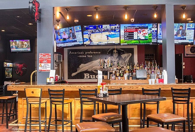 A look at the bar. - PHOTO BY MABEL SUEN