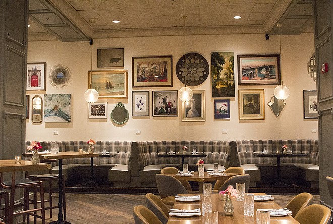 The Preston's new look is handsome and old-timey. - PHOTO BY MABEL SUEN