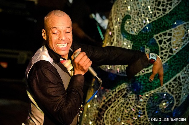Fishbone will perform at the Duck Room at Blueberry Hill on Sunday, June 5. - PHOTO BY JASON STOFF