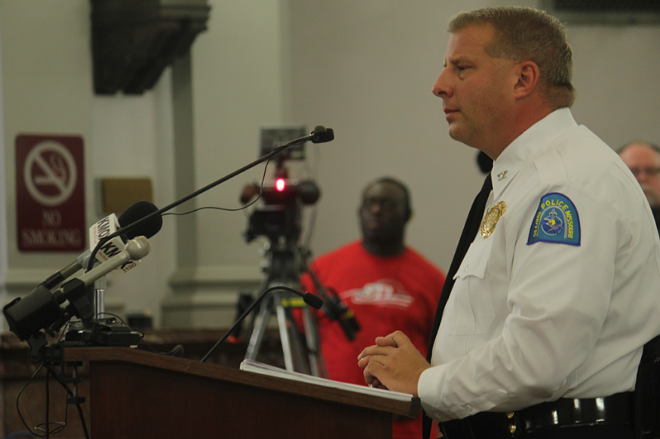 St. Louis Police Chief Sam Dotson. - PHOTO BY DANNY WICENTOWSK