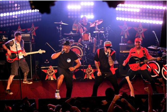 Prophets of Rage will perform at Hollywood Casino Amphitheatre  on Sunday, September 4. - PHOTO CREDIT: KEVIN WINTER