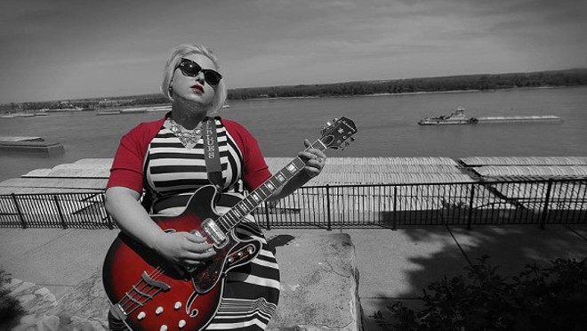 Catch Miss Molly Simms as she opens up the 2016 RFT Music Showcase as the very first band out of more than 90 acts on June 18. - PHOTO SOURCED FROM MISS MOLLY SIMMS' BANDCAMP