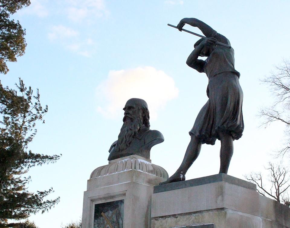 Friedrich Jahn Memorial. - PAIGE BRUBECK