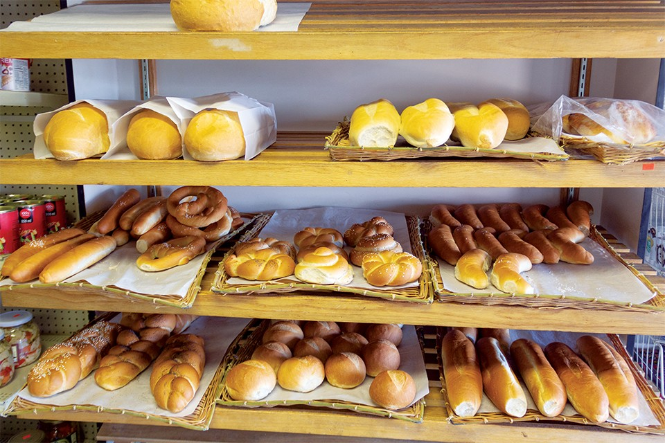 At Sana Bakery, bread sells out quickly. - RYAN GINES