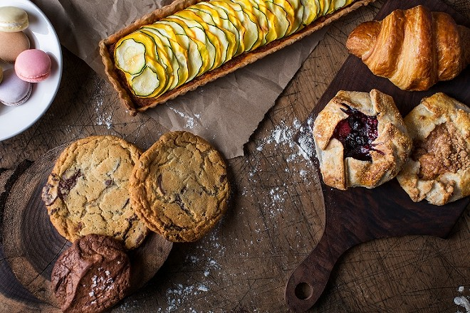PASTRY SELECTION AT WINSLOW'S HOME | JENNIFER SILVERBERG