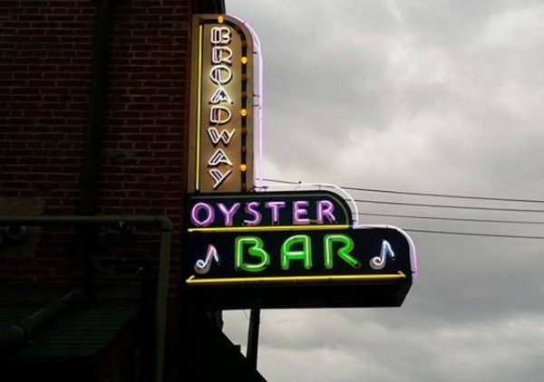 Broadway Oyster Bar: An intimate environment for tunes, brews and food. - RFT FILE PHOTO