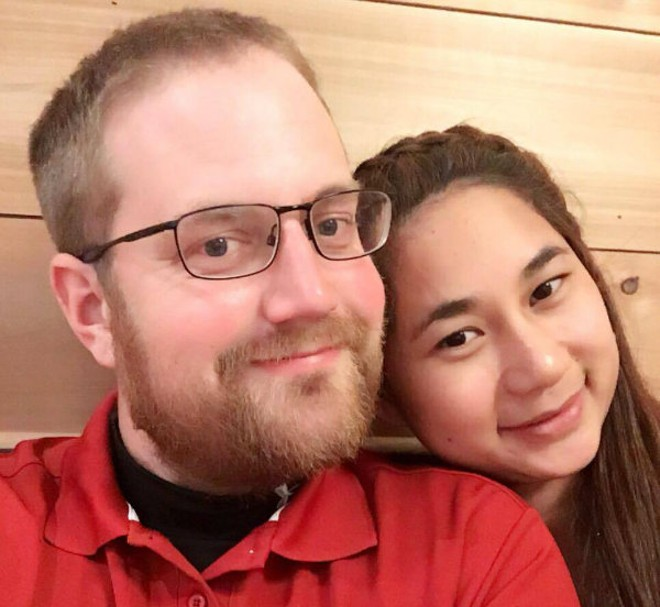 """Natchanok """"Pui"""" Nammakhot and Jacob Mangrum are two-thirds of the ownership team at Sushi Station. Their bitter falling out with the third team member is now the subject of a lawsuit. - PHOTO COURTESY OF PUI NAMMAKHOT"""
