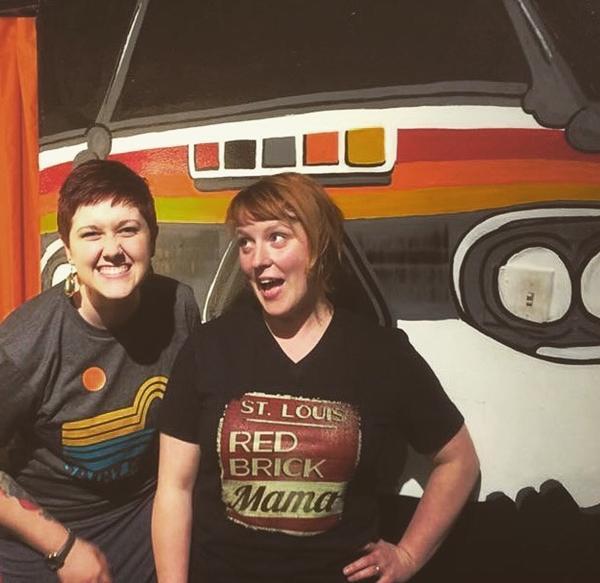 Elizabeth Eikmann and Amanda Clark at STL Stylehouse. - PHOTO COURTESY OF RENEGADE STL.