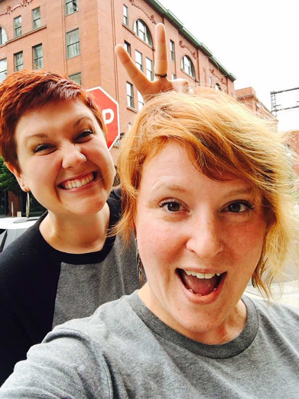 Red hair, don't care. - PHOTO COURTESY OF RENEGADE STL.