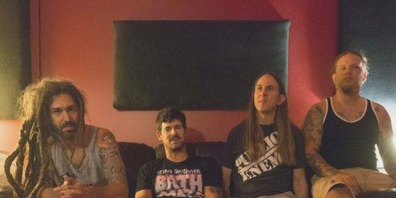 Hell Night with new vocalist Brian Fair, left. - PHOTO COURTESY OF THE BAND