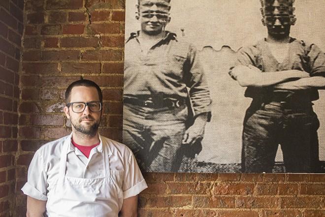 Chef Chris Bork. - PHOTO BY MABEL SUEN