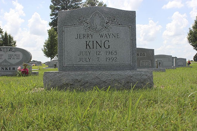 The death of Jerry Wayne King remains unsolved 24 years after he was found murdered in the Ozark Highlands. - PHOTO BY DOYLE MURPHY