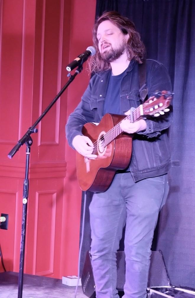 Will Varley at Stephen F's Bar - ROY KASTEN
