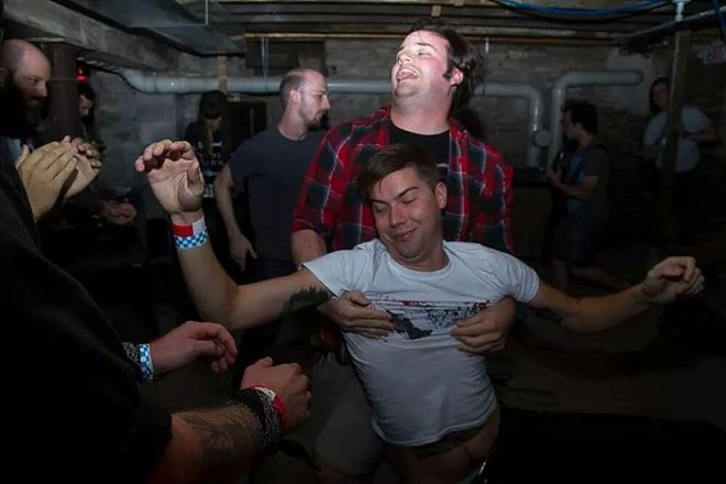 A scene from last year's fest. Good times clearly had by all. - PHOTO BY TOM BREMER