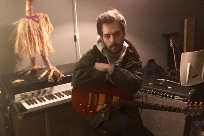 In addition to his solo project Ronnie Rogers, Aaron O'Neill is known for his work with Shady Bug, Isabel Rex and A Leaf in the Street. - VIA THE ARTIST