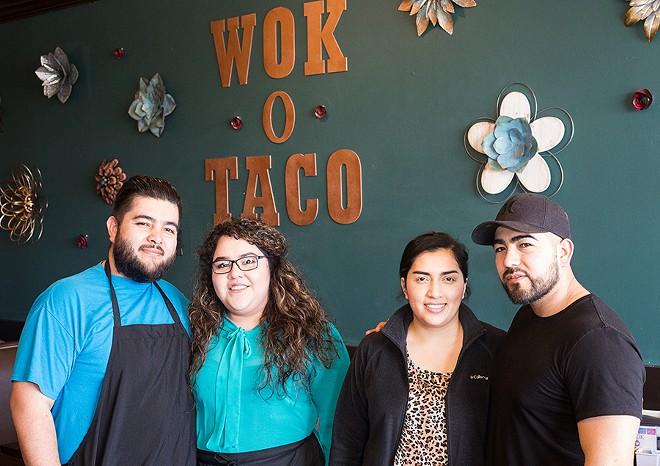 Co-owners Abel Cervantes, Bianca Cervantes, Brenda Cervantes and Marcos Cervantes. - MABEL SUEN