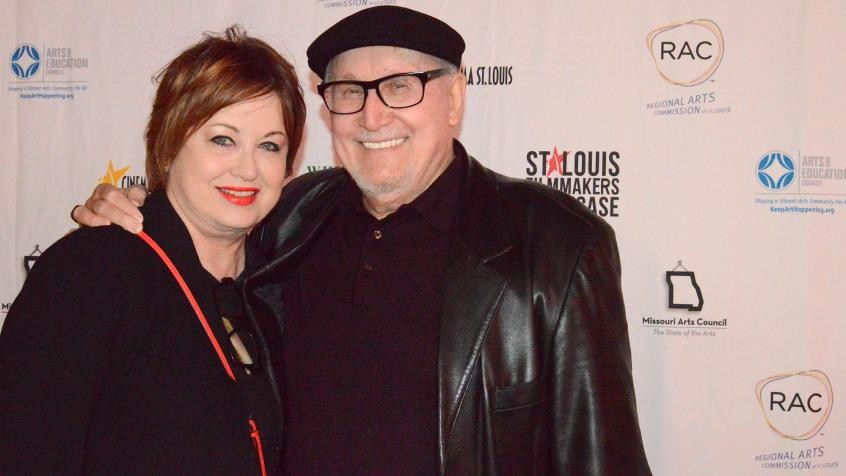 Kim Tucci, right, was a booster of the city's film industry -- and so much more.