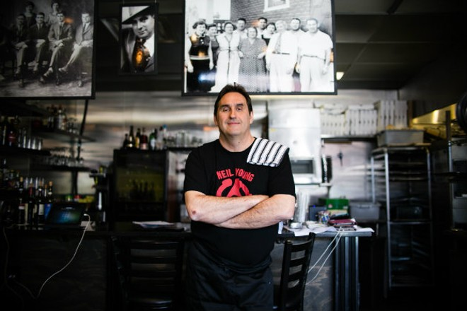Pepe Kehm embraces his roots at Peno Soul Food. - JEN WEST
