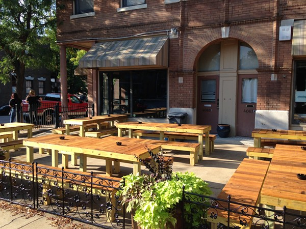 The patio of Thurman's in Shaw is a pretty good place to hang out. - PHOTO BY DOYLE MURPHY