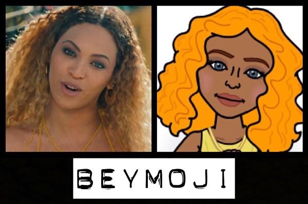 A still from Lemonade / Our Beyoncé design - ALL BEYMOJIS BY JAIME LEES