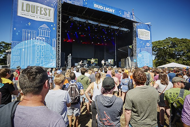 Clear skies and temps in the 70s made for an ideal outdoor festival experience. - PHOTO BY STEVE TRUESDELL