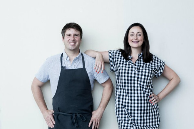 Michael and Tara Gallina will open Vicia late this year. - JONATHAN GAYMAN