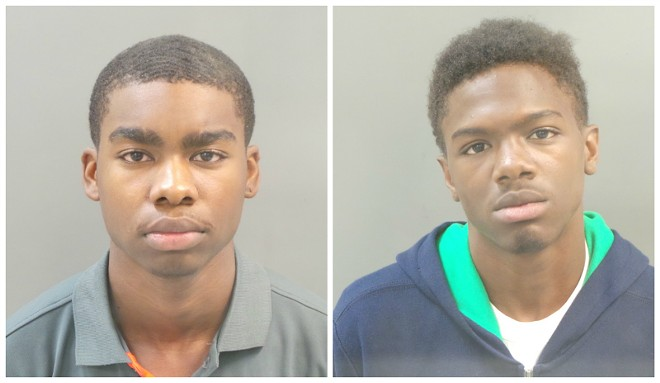 Ronald Harris (left) and Jermaine Stabler face murder charges. - IMAGES VIA ST. LOUIS METRO POLICE DEPARTMENT